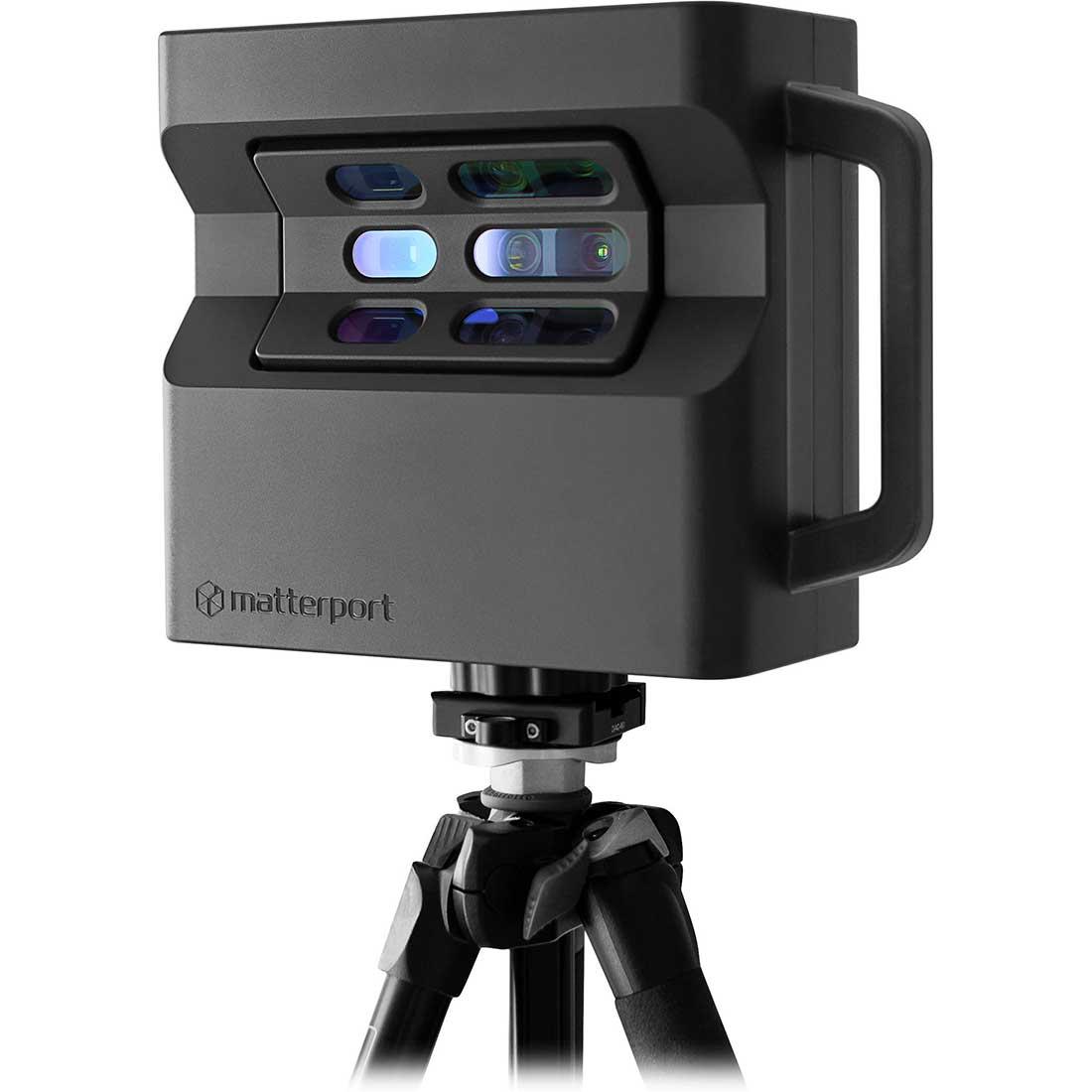 Camera Matterport Pro 2 pentru capturi profesionale, realizarea de filmări pentru crearea tururilor virtuale şi a prezentărilor de imobile