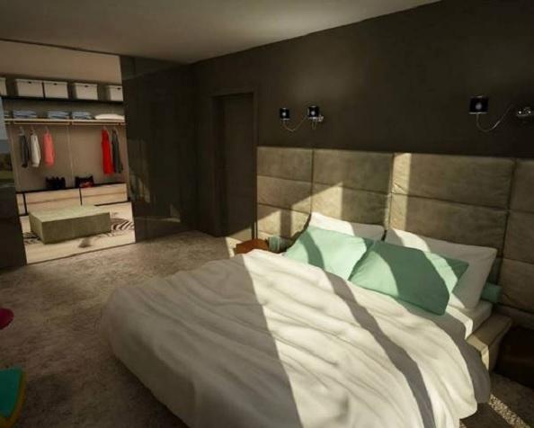 penthouse Aviatiei dormitor