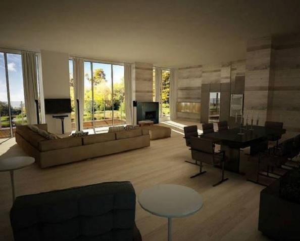 penthouse Aviatiei interior 2