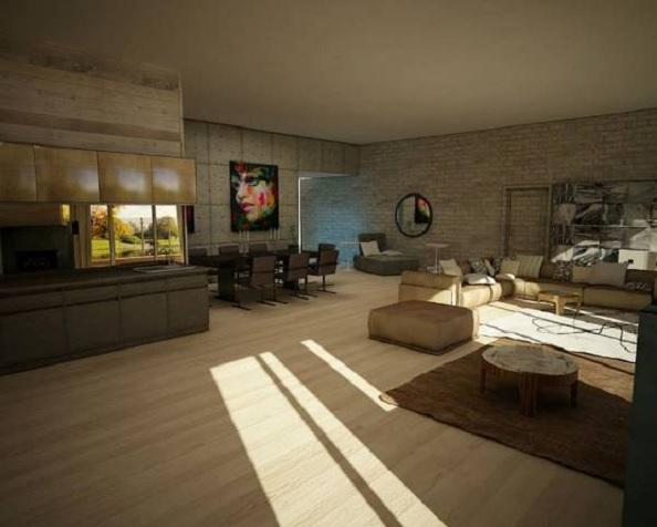 penthouse Aviatiei interior 3