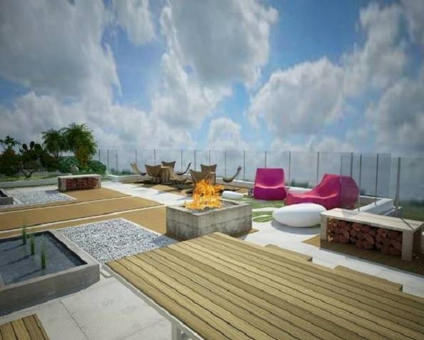 penthouse Aviatiei terasa 4