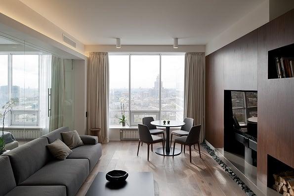 compact apartment Moscova 1