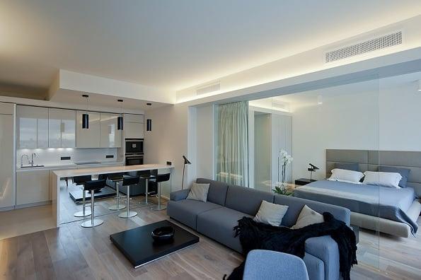 compact apartment Moscova 2