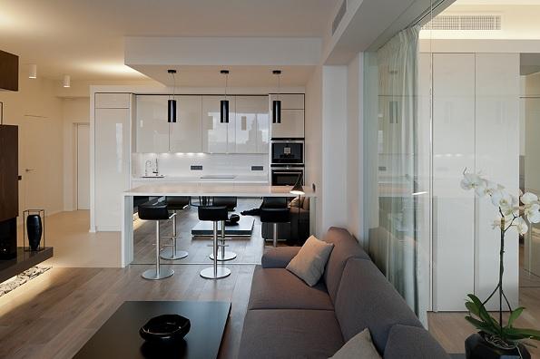 compact apartment Moscova 3