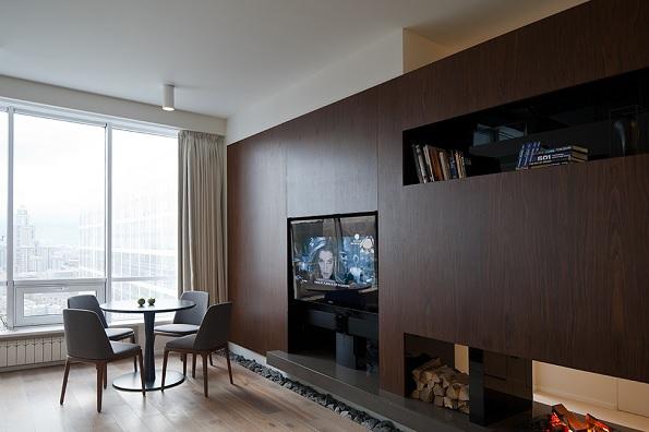 compact apartment Moscova 4