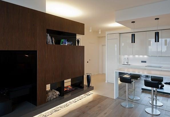compact apartment Moscova 5