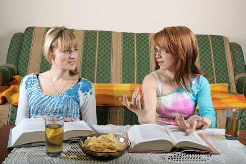 studente de vorba