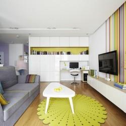Design modern şi tineresc pentru o familie cu (sau fără) copii