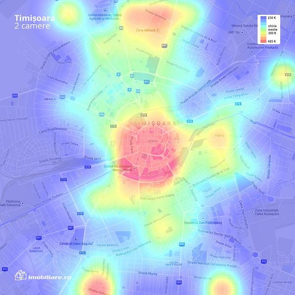Harta chirii Timisoara 2c