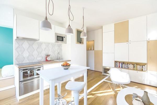 30 mp apartment Paris 1