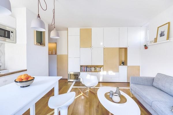 30 mp apartment Paris 2