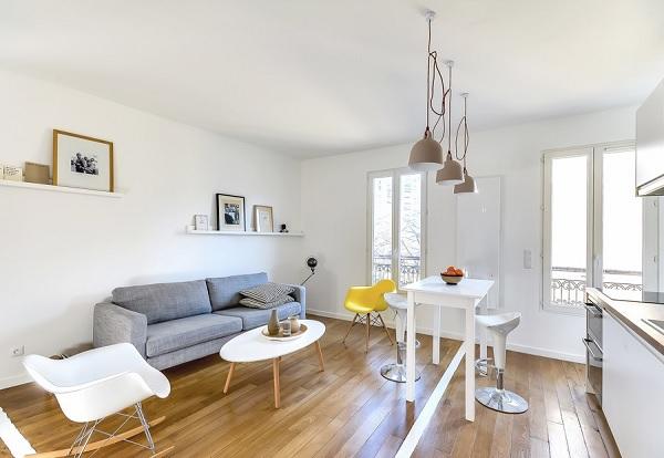 30 mp apartment Paris 3