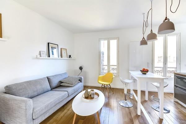 30 mp apartment Paris 4