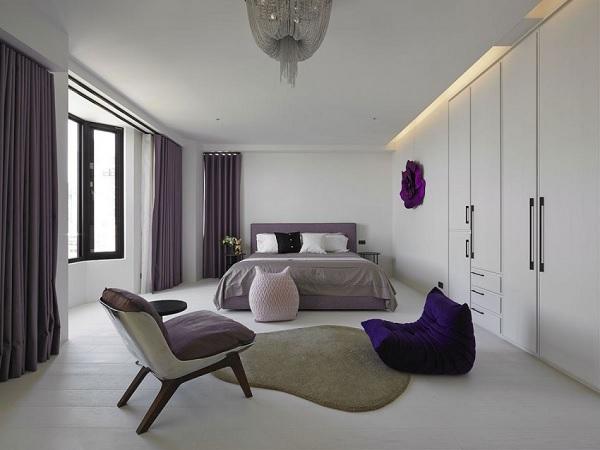 Color contrast apartment 12