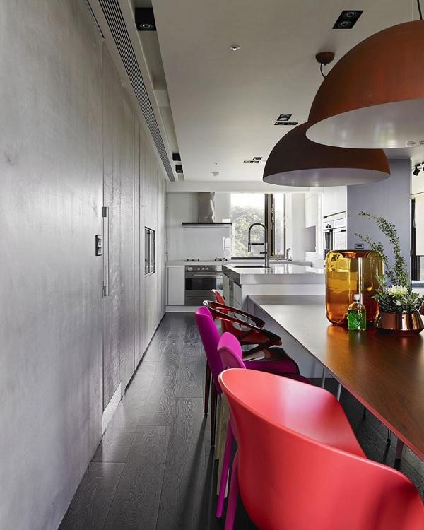 Color contrast apartment 7