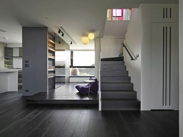 Color contrast apartment 9