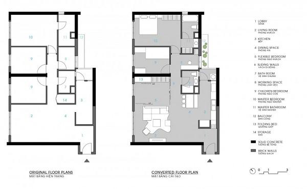 Vietnam apartment 13
