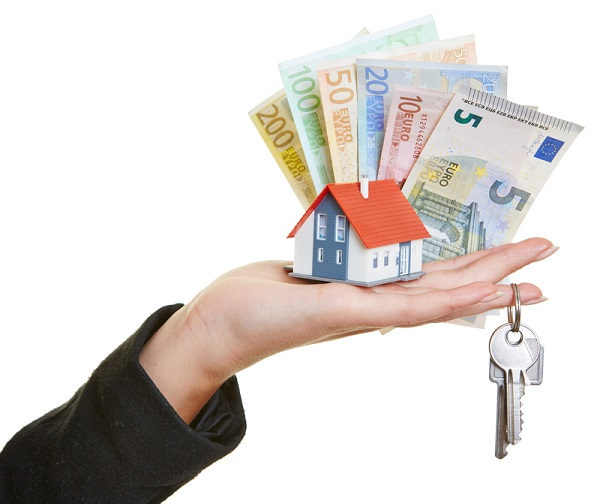 http://www.dreamstime.com/royalty-free-stock-image-hand-holding-house-keys-euro-money-female-little-bills-image34010956