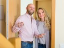 http://www.dreamstime.com/royalty-free-stock-photos-couple-coming-to-see-new-flat-happy-smiling-married-focus-man-image51606328