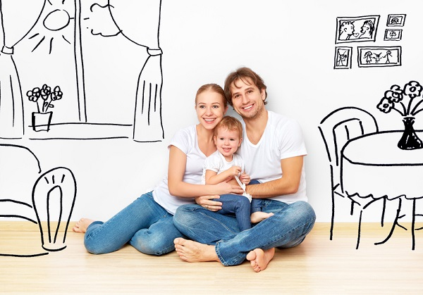 http://www.dreamstime.com/royalty-free-stock-images-concept-happy-young-family-new-apartment-dream-plan-interior-image47745819