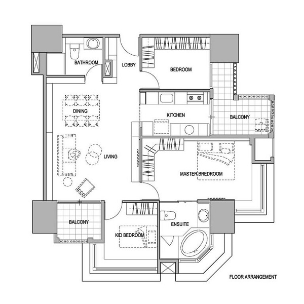 Archlin Taipei apartment 13
