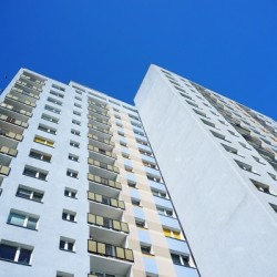 http://www.dreamstime.com/stock-image-high-apartment-block-blue-sky-image40974431