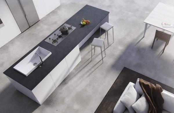 Bucatarie minimalist industriala 1