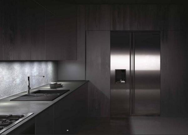 Bucatarie minimalist industriala 3