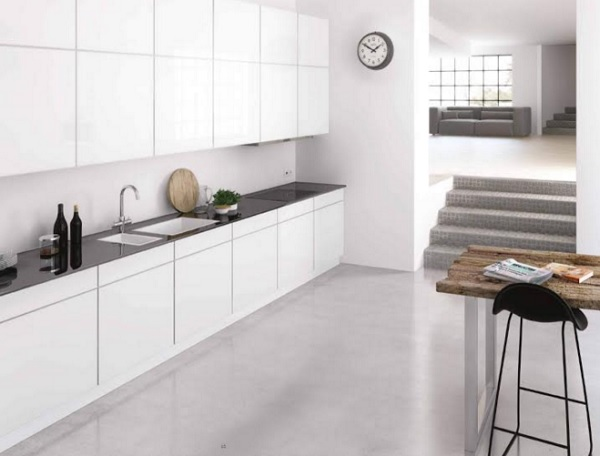 Bucatarie minimalist industriala 4