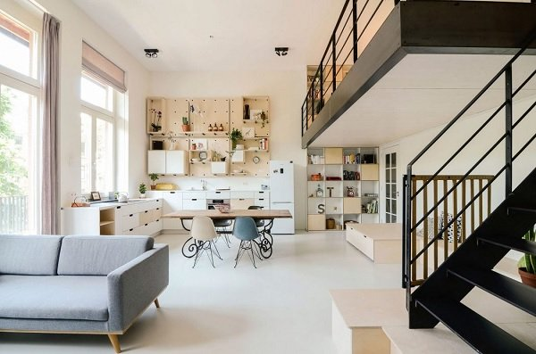 Amsterdam school apartment 2