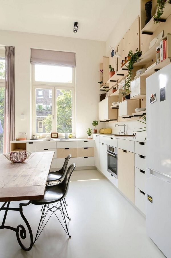 Amsterdam school apartment 4