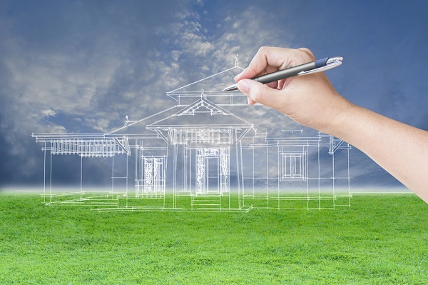 http://www.dreamstime.com/stock-photography-architect-hand-drawing-house-grass-field-sky-background-image63553242