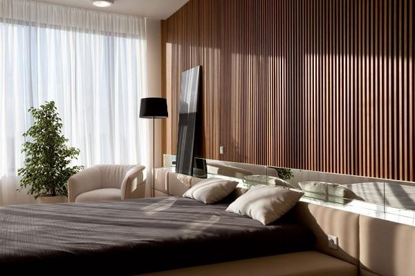 green minimalist apartment 10