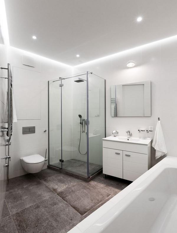 green minimalist apartment 11