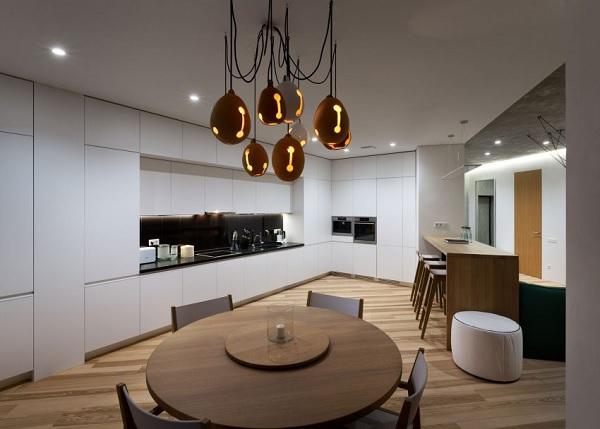 green minimalist apartment 7
