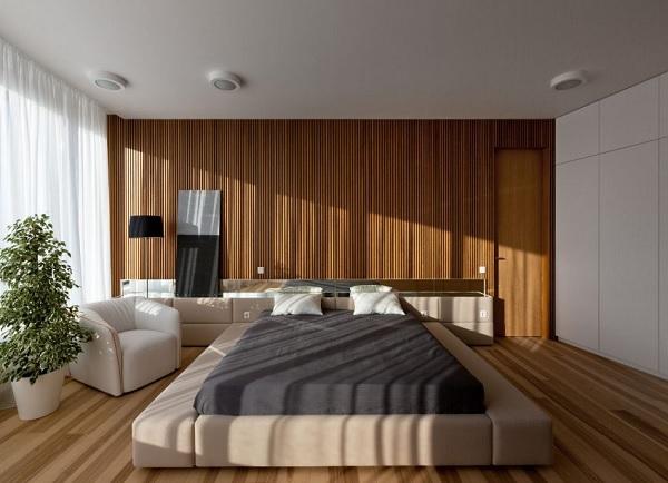 green minimalist apartment 8