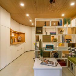 un garaj obisnuit este transgormat de o echipa de designeri