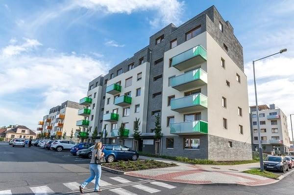 Complex de apartamente pasive din Cehia