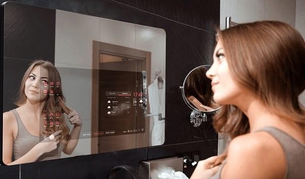 Oglinda inteligenta Siebo Smart Home