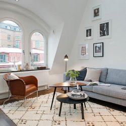 Amenajarea unui apartament duplex de 55 de metri patrati