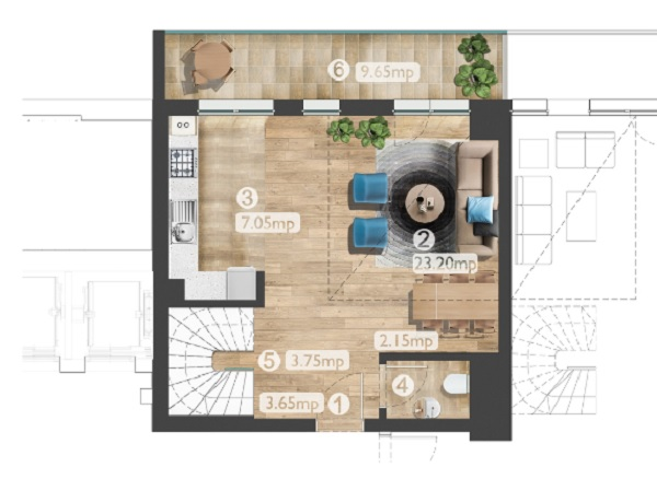 Belvedere plan 1