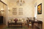 amenajare clasic-romantica creata de designeri romani