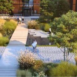 birourile viitorului: gradini integrate si spatii de relaxare in aer liber