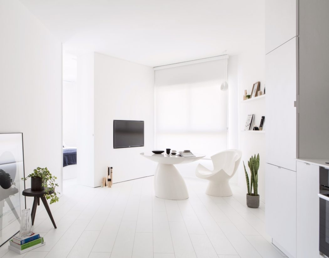 Amenajarea unui apartament ingust de 42 de mnetri patrati