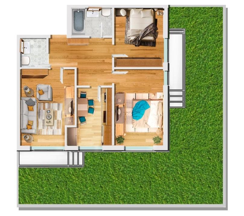 AES Apartments izolarea fonica a unor blocuri de apartamente printr-un sistem folosit la platformele marine si in industria aerospatiala