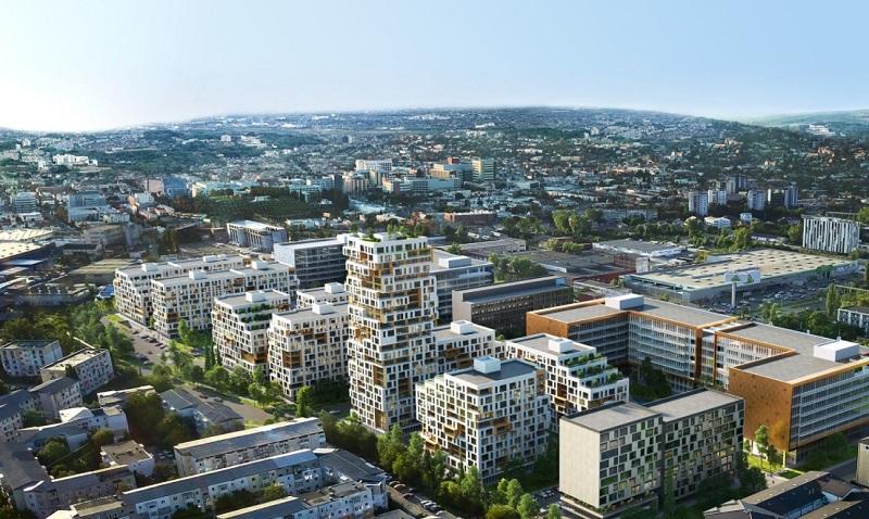 """Ansamblu multifuncțional de 2.500 de apartamente așteaptă """"undă verde"""" pentru începerea construcției, în Iași"""