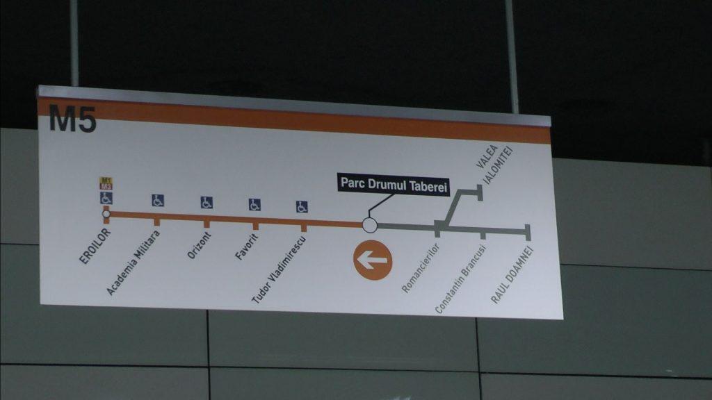 metrou drumul taberei m5